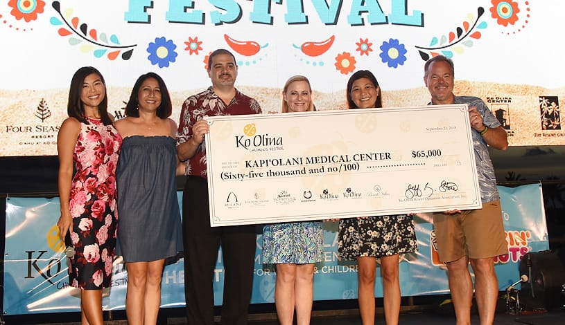 Community Raises $65,000 for Kapiolani Medical Center